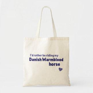 Tote Bag Cheval de Warmblood du danois