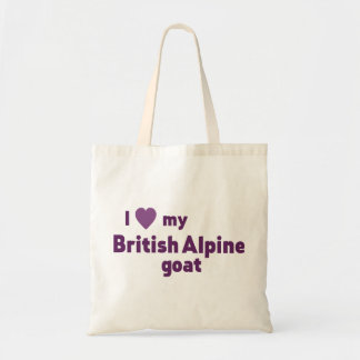 Tote Bag Chèvre alpine britannique