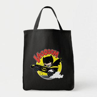 Tote Bag Chibi Batman dans le Batmobile