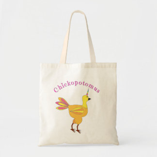 Tote Bag Chickopotomus - le poulet de licorne