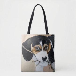Tote Bag Chiot de beagle