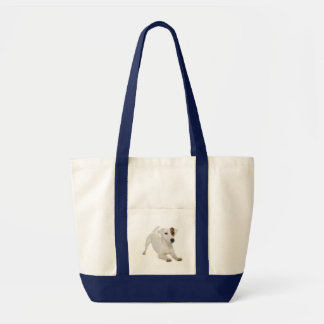 Tote Bag Chiot de Jack Russell Terrier