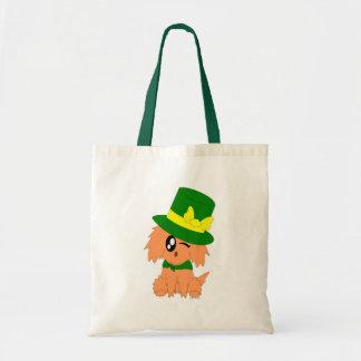 Tote Bag Chiot délabré de lutin du jour de St Patrick