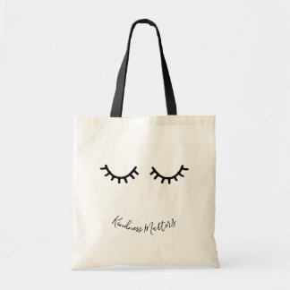 Tote Bag Cils noirs