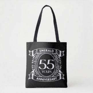 Tote Bag cinquante-cinquième crête d'émeraude