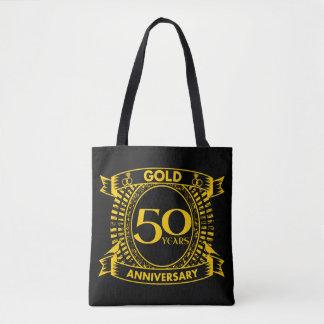Tote Bag cinquantième Anniversaire de mariage d'or