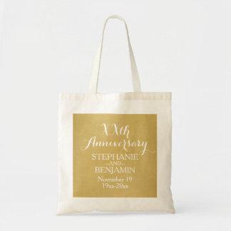 Tote Bag cinquantième ou autre anniversaire de mariage