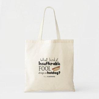 Tote Bag citation fourre-tout de hot dog