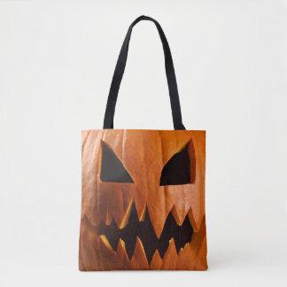Tote Bag Citrouille fâché de Halloween