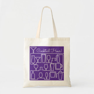 Tote Bag Cocktail pourpre