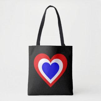 Tote Bag Coeur néerlandais/néerlandais drapeau-a inspiré le