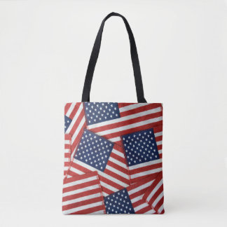 Tote Bag Collection de drapeau américain