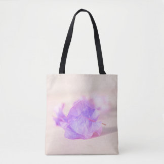 Tote Bag collection florale. lilas