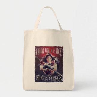 Tote Bag Combat de femme de merveille pour la justice