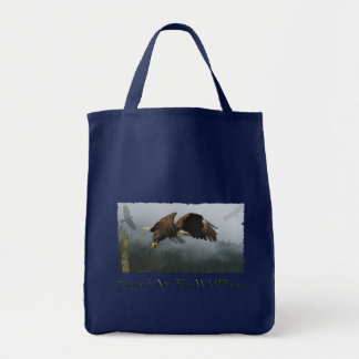 Tote Bag Conception américaine d'Eagle chauve pour des