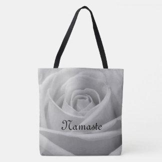 Tote Bag Conception assez grise de Namaste de rose