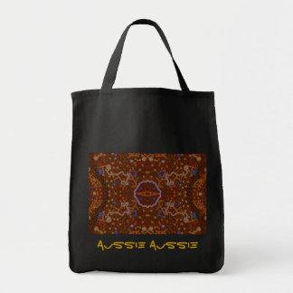 Tote Bag Conception australienne d'art de bain de foule