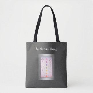Tote Bag Conception curative holistique argentée de mains