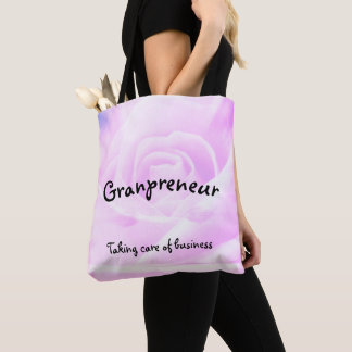 Tote Bag Conception florale de Granpreneur