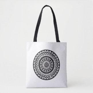 Tote Bag Conception florale de mandala