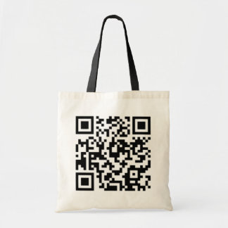 Tote Bag Conception Fourre-tout de code de QR : Meilleur