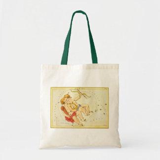 Tote Bag Constellation jumelle de zodiaque de Gémeaux