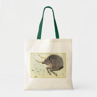 Tote Bag Constellation vintage de Taureau de Taureau