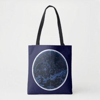 Tote Bag Constellations du sud Fourre-tout