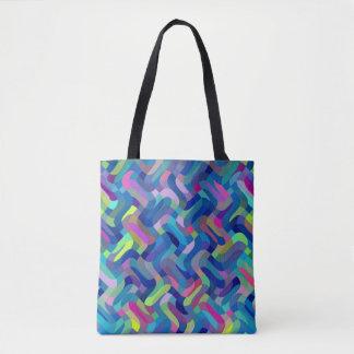 Tote Bag Cool multicolore de motif