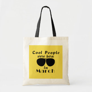 Tote Bag Cool People were Born in…