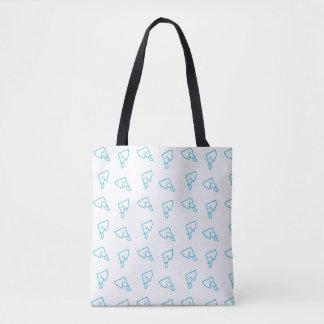 Tote Bag Copie bleue Fourre-tout d'éléphant de MMNH partout
