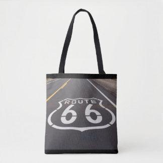 Tote Bag Copie Fourre-tout de l'itinéraire 66 partout