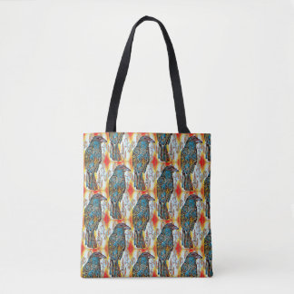 Tote Bag Corneille de chute modelée