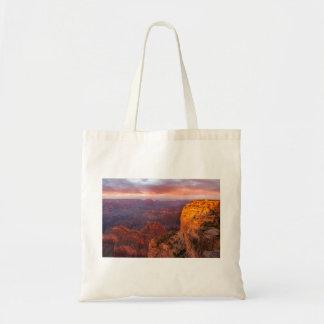 Tote Bag Coucher du soleil 2 Fourre-tout de point de Hopi