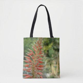 Tote Bag Coutume de fleur d'aloès tout plus de - imprimez