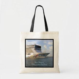 Tote Bag Coutume décorée d'arc de bateau de croisière
