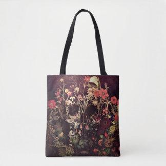 Tote Bag Crâne de fleur