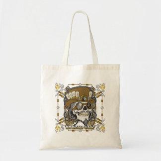 Tote Bag Crâne mécanique de Steampunk