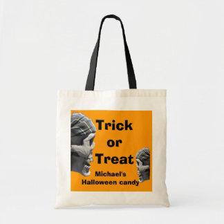 Tote Bag Crâne personnalisé de pirate de des bonbons ou un