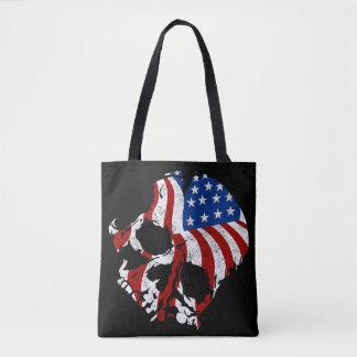 Tote Bag Crânes américains