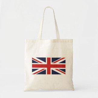 Tote Bag Créez votre propre Union Jack rouge