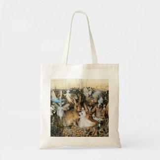 Tote Bag Crépuscule féerique vintage de conte de fées, John