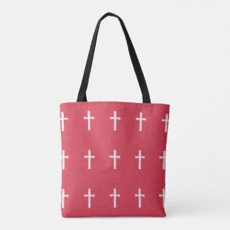 Tote Bag Croix blanche
