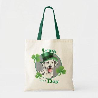 Tote Bag Dalmate du jour de St Patrick