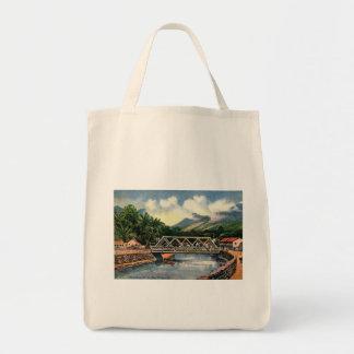 Tote Bag Dans les banlieues, cru de Honolulu, Hawaï