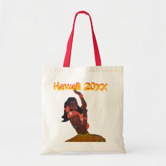 Tote Bag Danseur de danse polynésienne Aloha
