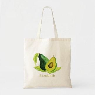Tote Bag D'avocat toujours fruit vert de la vie dans les