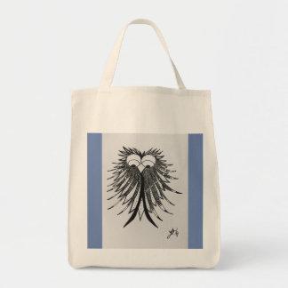 Tote Bag De toile d'épicerie de Fourre-tout de griffonnage