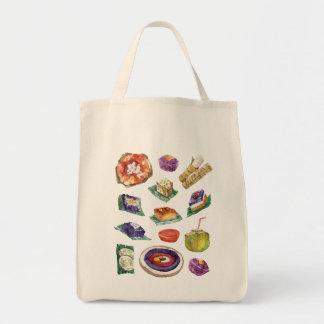 Tote Bag Délicatesses philippines de nourriture dans