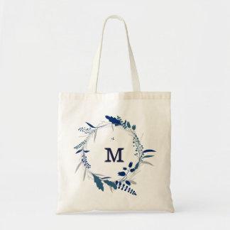 Tote Bag Demoiselle d'honneur florale personnalisée